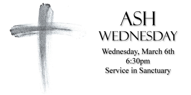 Ash Wednesday 03-06-18 | Point Pleasant UMC
